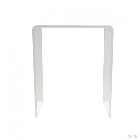 STEYG table de côté transparent