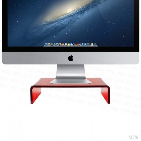 STEYG STAND RUBY RED IMAC / PC MONITOR