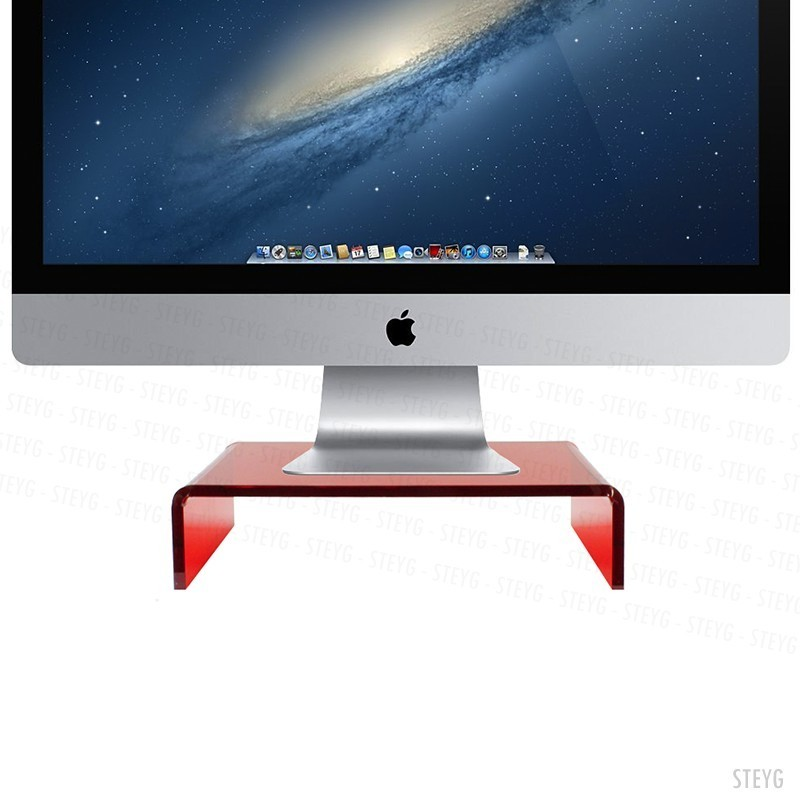 steyg stand ruby red pour imac ou cran. Black Bedroom Furniture Sets. Home Design Ideas