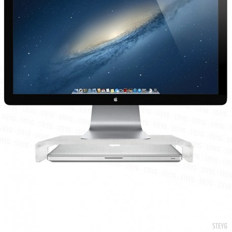 STEYG STAND SMART Monitor & MacBook