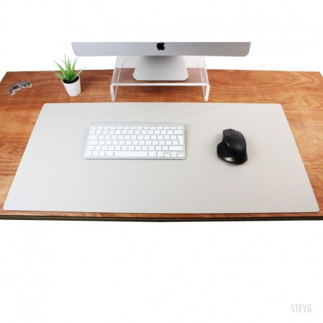 MOUSE PAD 80X40CM - X01 - PU LEATHER BLACK