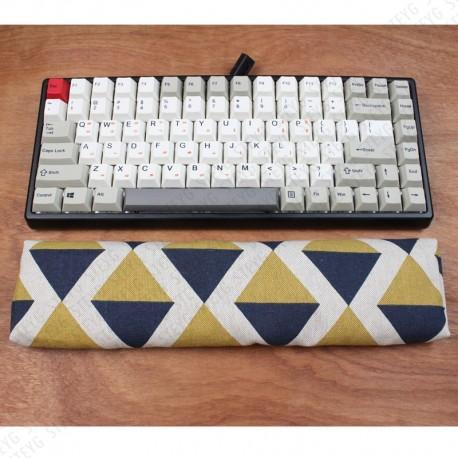 STEYG Wrist Rest Keyboard with buckwheat hulls - Retro