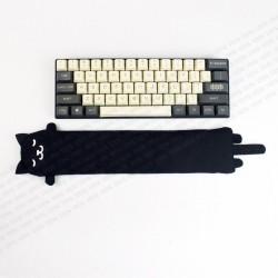 STEYG Wrist Rest für Mechanische oder Kompakte Tastatur   Katze Schwarz