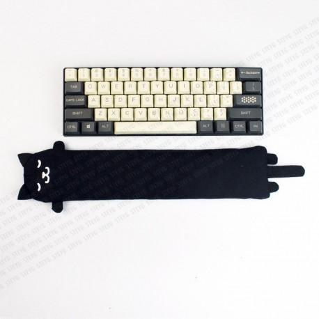STEYG Polssteun voor Mechanische of Compacte Toetsenbord| Kat Zwart