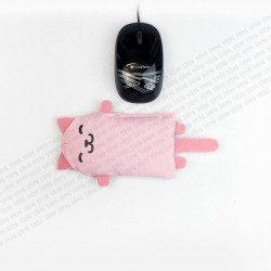 STEYG Wrist Rest for Computer Mouse | Cat Pink