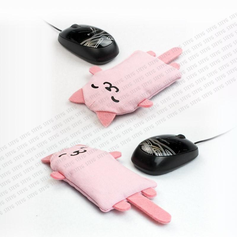 Polssteun voor de kattenliefhebber: nu ook voor de (computer-)muis!