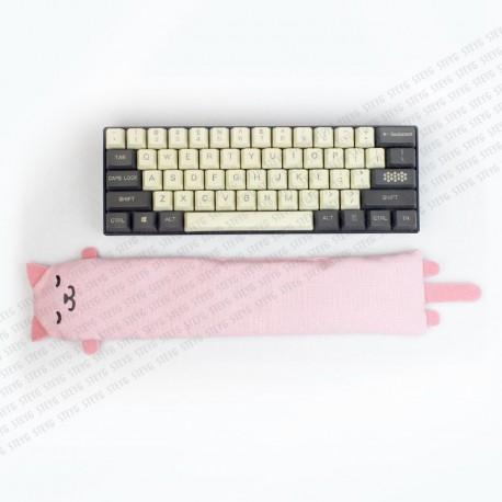 STEYG Wrist Rest für Mechanische oder Kompakte Tastatur | Katze Rosa