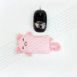 Clavier Repose-poignets STEYG pour Souris D'ordinateur | Cochon Rose