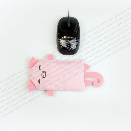 STEYG Wrist Rest für Computermaus | Schwein Rosa