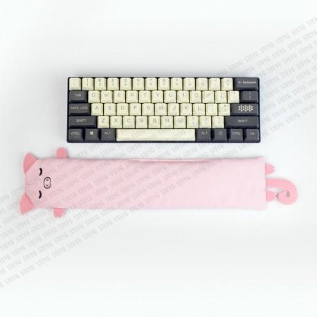 STEYG Wrist Rest für Mechanische oder Kompakte Tastatur | Schwein Rosa