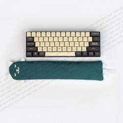 STEYG Wrist Rest for Mechanical or Compact Keyboard | Cat Green