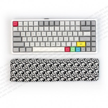 STEYG Wrist Rest Keyboard | METRIX | Filled with buckwheat hulls