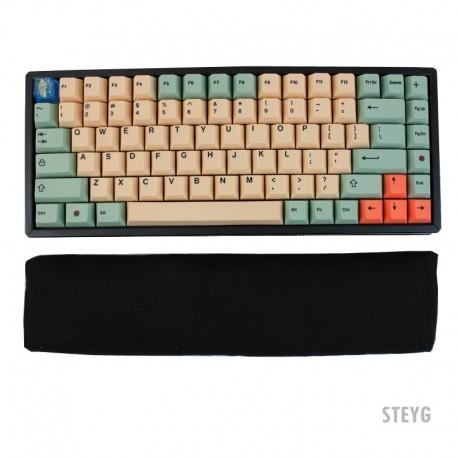 STEYG Wrist Rest Keyboard mit Buchweizenschalen - Black