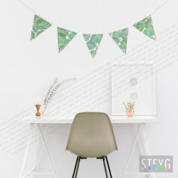 Fabric garland BOTANICAL