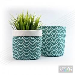 Fabric basket / flower pot MIDORI